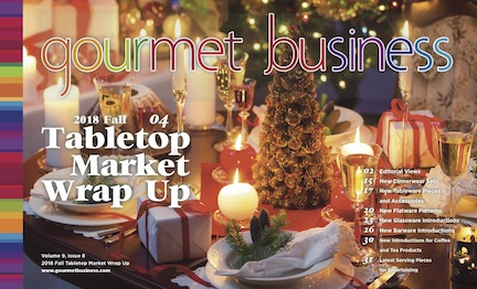 Gourmet Business 2018 Fall Tabletop Wrap Up