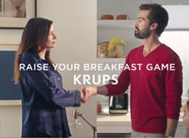 "New Krups Campaign Invites Consumers to ""Delight in the Details"""