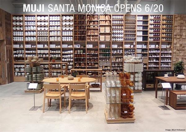 Gourmet Business News Muji Opens Store In Santa Monica